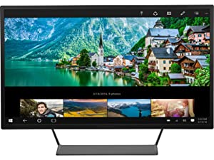 HP Pavilion 32-inch QHD Wide-Viewing Angle Display (V1M69AA#ABA) (Renewed)