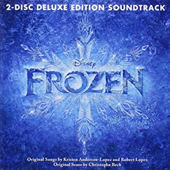 Frozen Music from The Motion Picture soundtrack