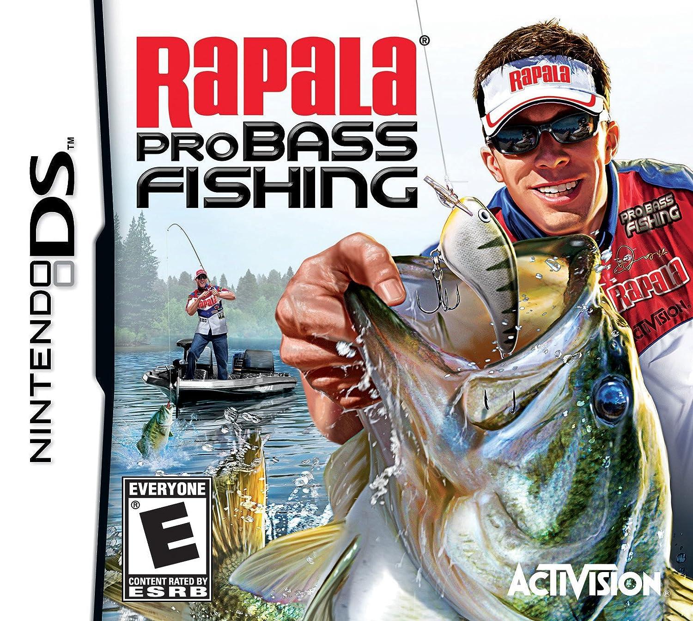Amazon Com Rapala Pro Bass Fishing 10 Nintendo Ds Video Games