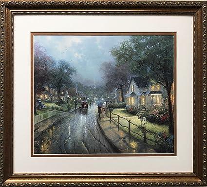 Merveilleux Gallery Gems Thomas Kinkade Hometown Memories 1u0026quot; Newly Custom Framed  Art Print Size: 19u0026quot