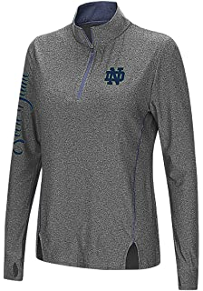 new arrival ed98b 88b46 Colosseum Notre Dame Fighting Irish Charcoal Vizzini 14 Zip Synthetic Wind  Shirt