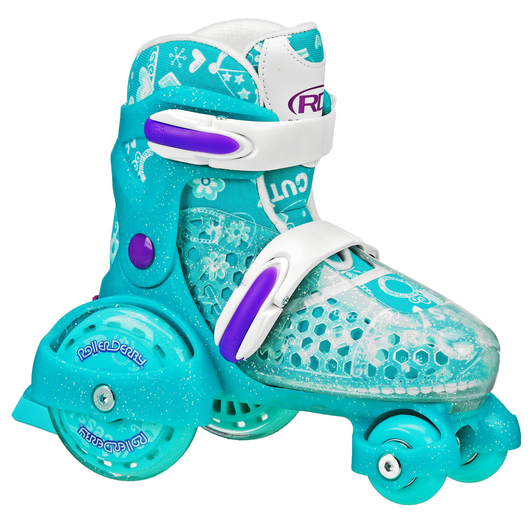 EZ Roll Quad Skates 11-2 by Roller Derby