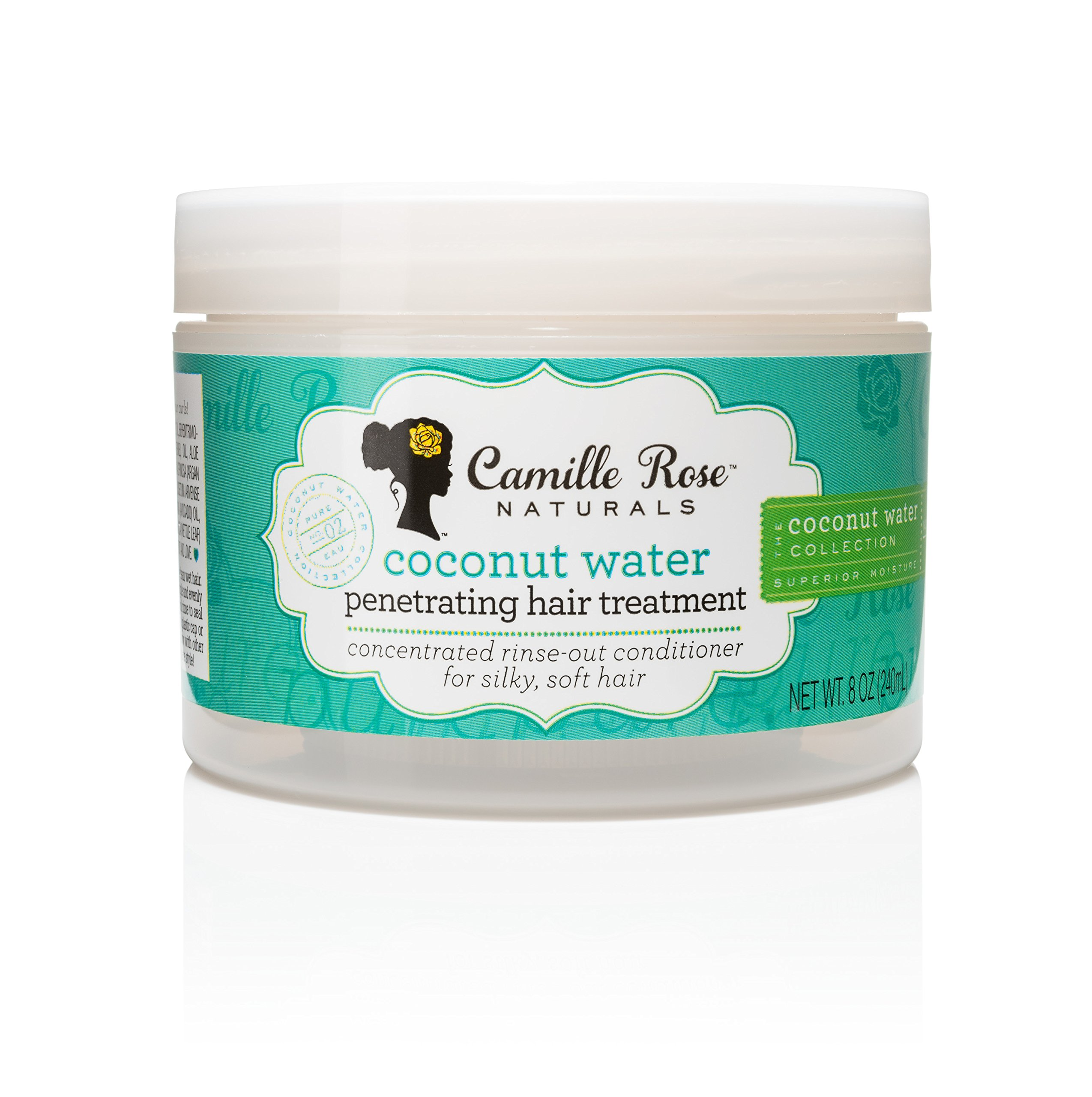 Amazon.com : Camille Rose Naturals Coconut Water Style Setter 8oz by ...