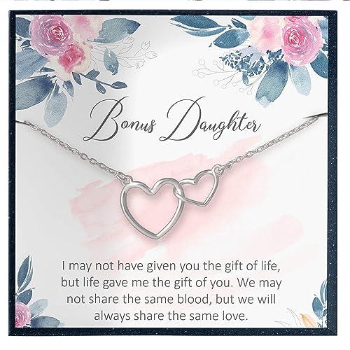 Bonus Daughter Necklace Stepdaughter Gift Step Daughter Gift Bonus Daughter Stepdaughter