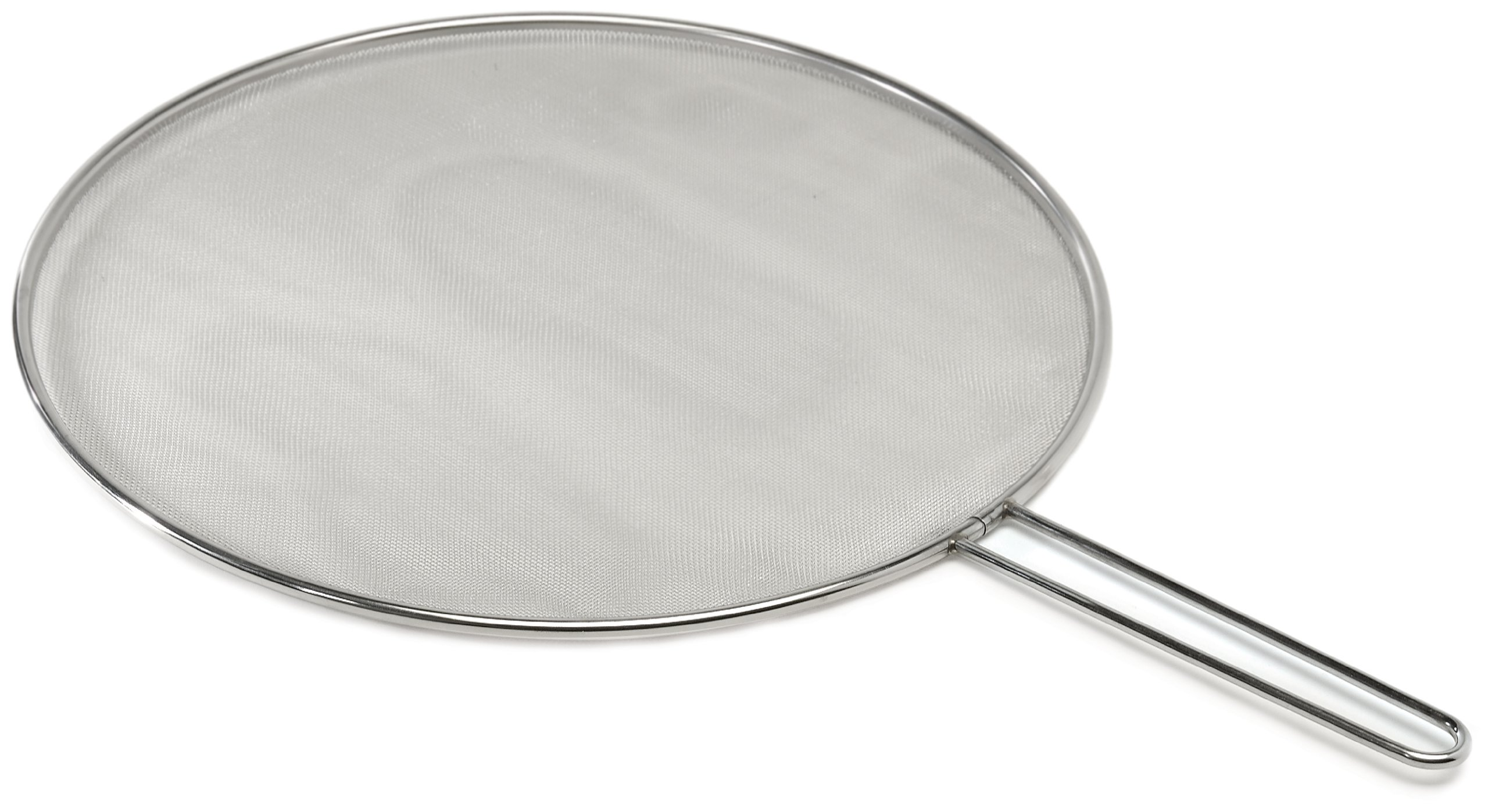 Excelsteel Stainless Steel 13-Inch Splatter Screen with Stay Cool Handle