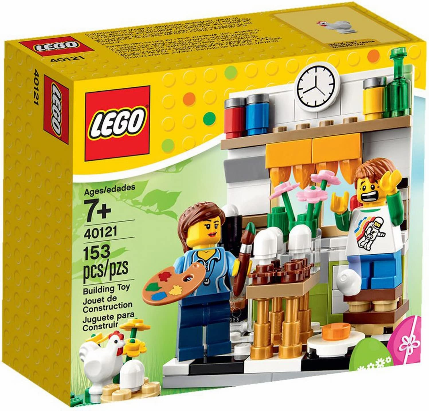 LEGO Painting Easter Eggs Painting Easter Eggs Set 40121