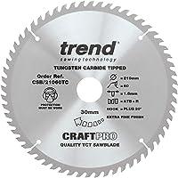 Trend CSB/21060tc Craftpro–Piedra Hoja de sierra 210mm x