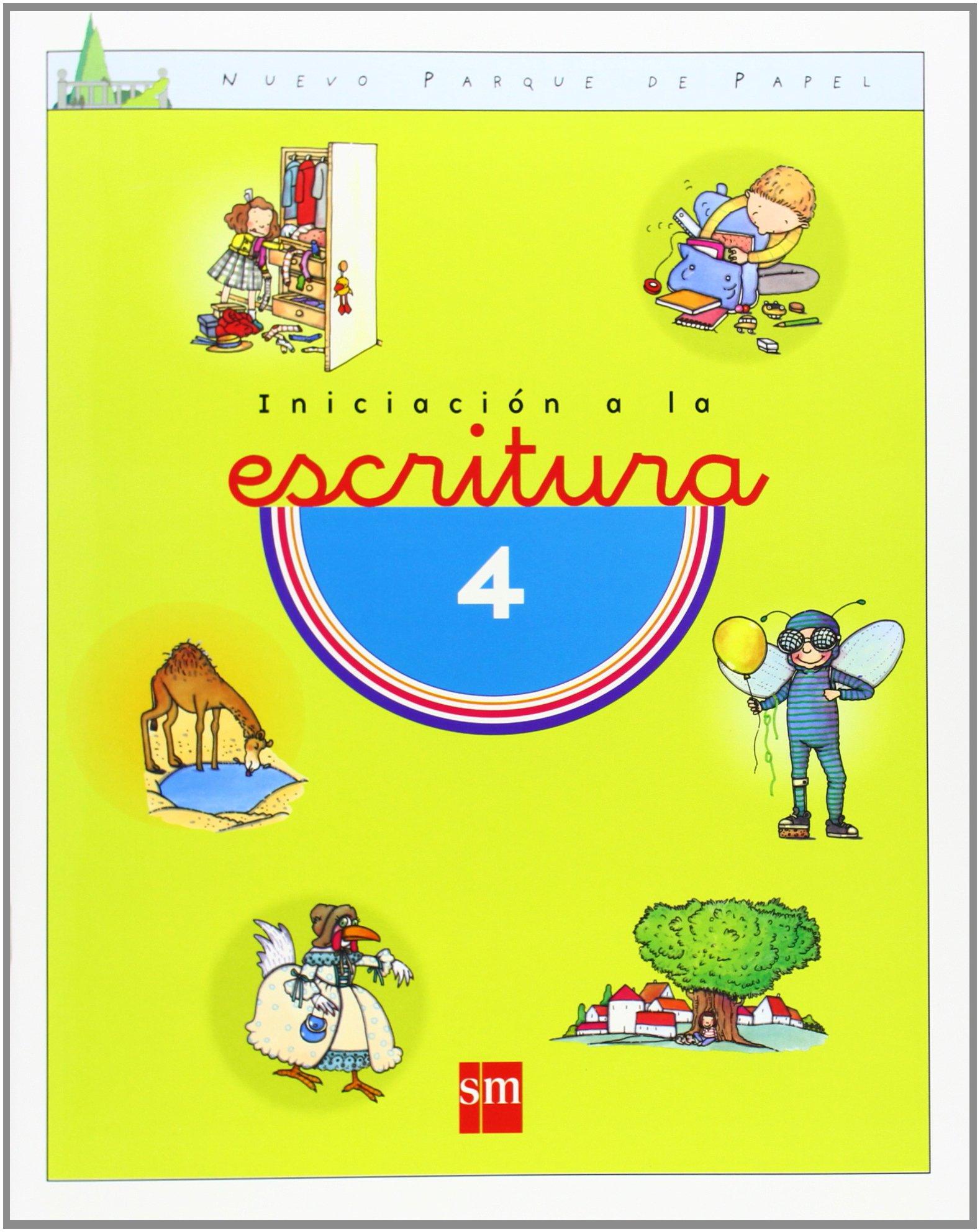 Iniciación a la escritura 3 y 4. Nuevo parque de papel - 9788434864108:  Amazon.es: María Castillo, Nuria Lantero: Libros
