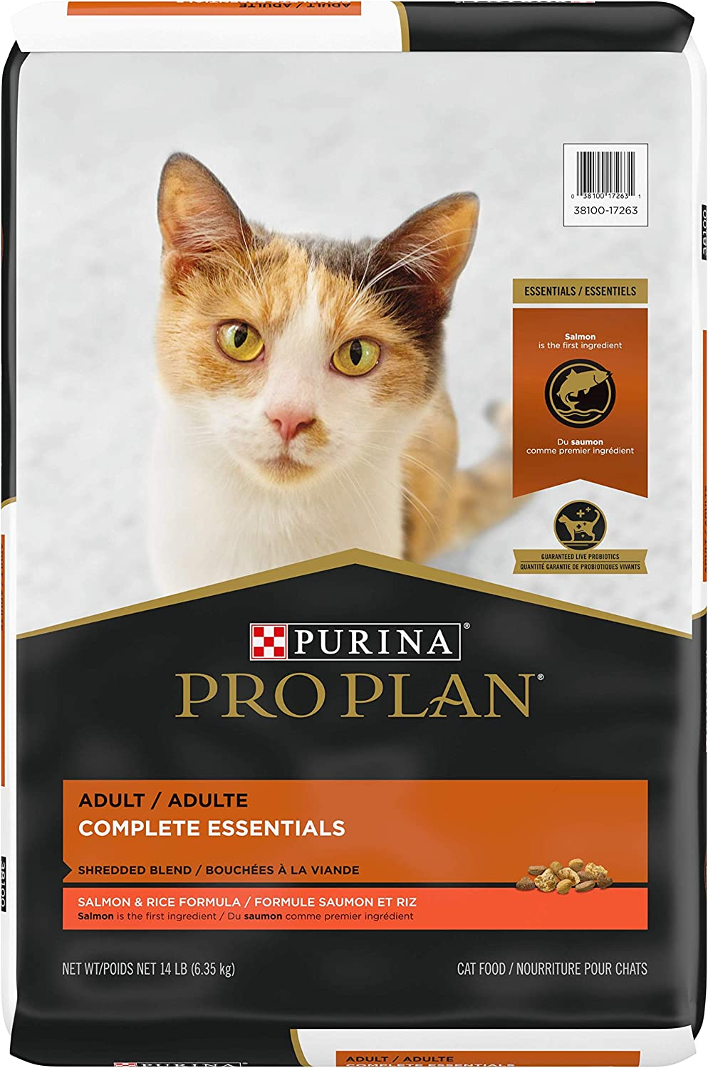 Purina Pro Plan with Probiotics High Protein Adult Dry Cat Food (Packaging May Vary)
