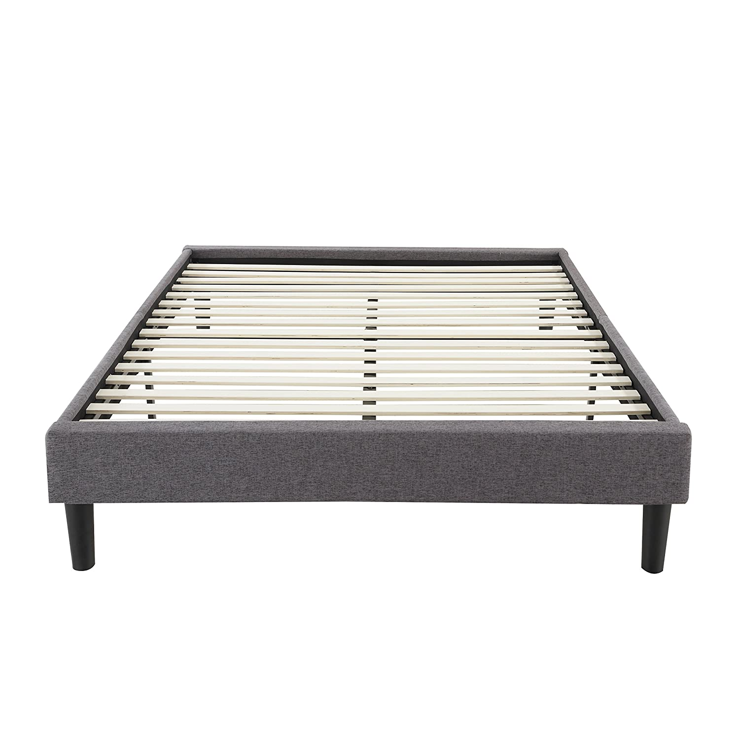 com button platform upholstered walmart frame zinus bed full ip tufted