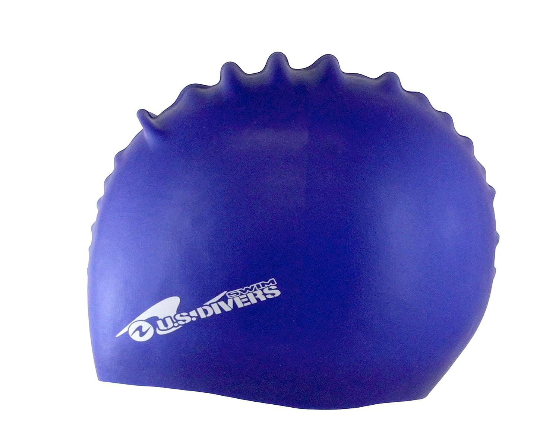 U.S Assorted Colors US Divers 301900MA Divers Silicone Swim Cap