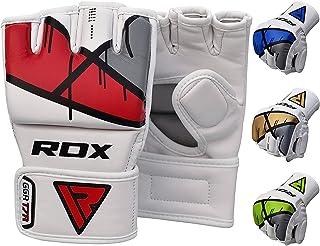RDX MMA Gants Maya Hide Cuir Entrainement Art Martiaux Kickboxing Sparring Sac De Frappe Combat