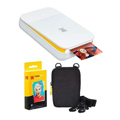 KODAK Smile - Kit de Impresora Digital instantánea (Blanco y ...
