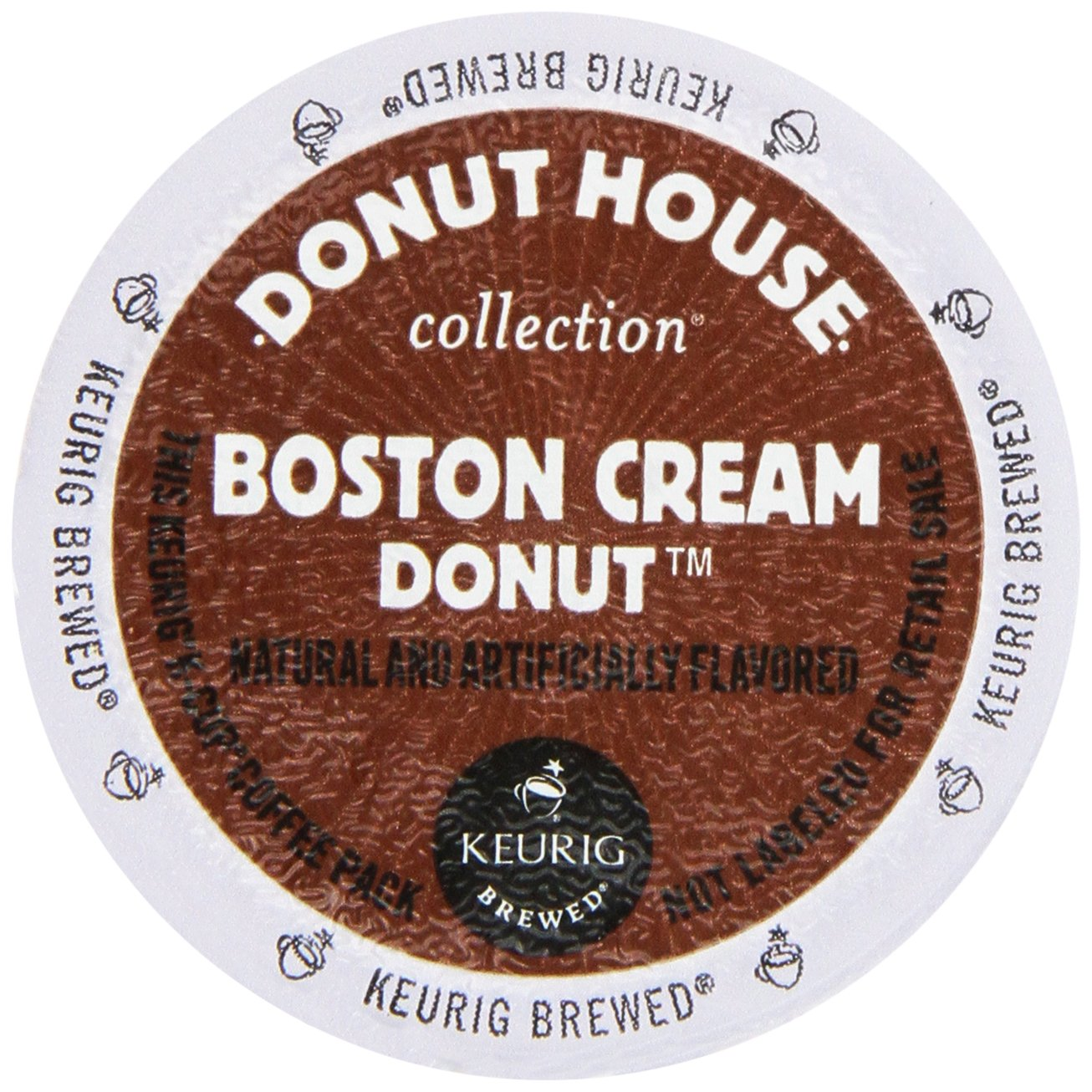 Donut House Boston Cream Donut Keurig 2.0 K-Cup Pack, 36 Count