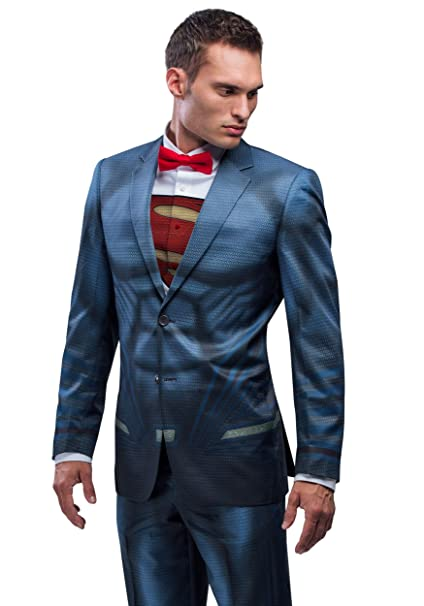 Amazon.com: Superman Traje chamarra (Alter Ego), 48 normal ...