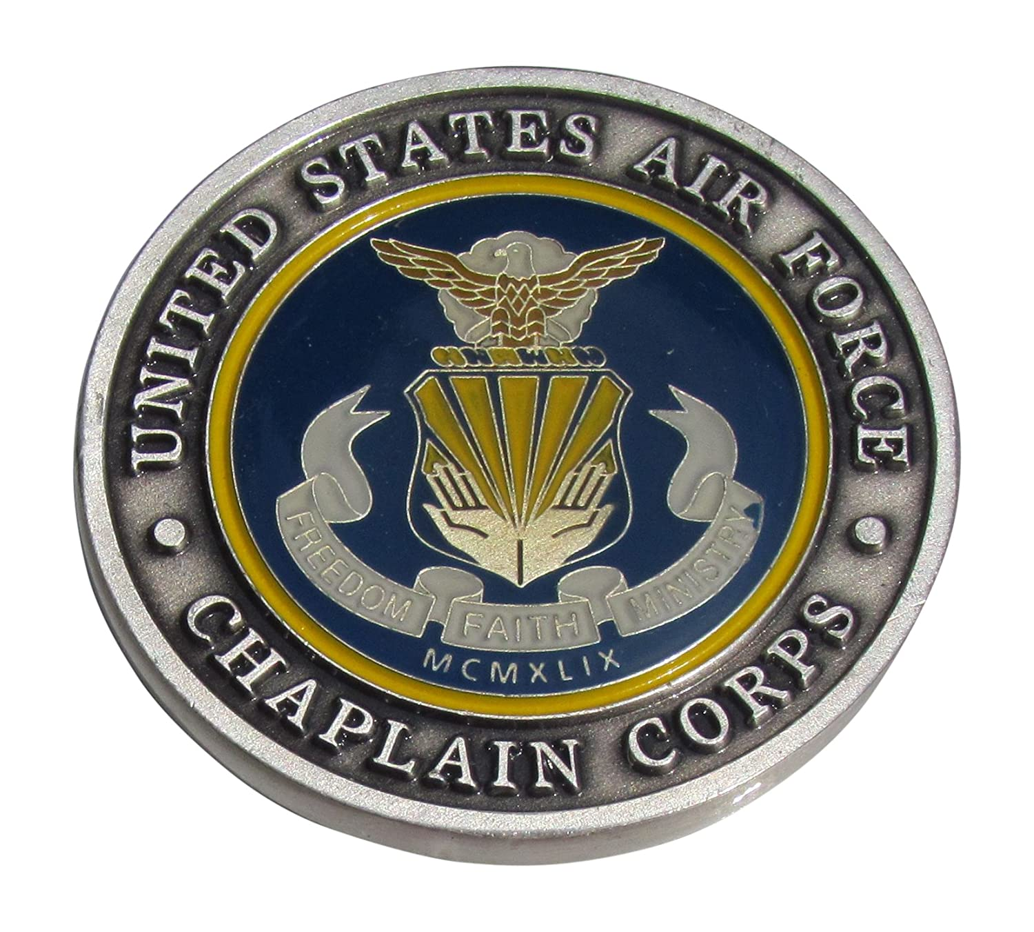Amazon com: United States Air Force Chaplain Corps Challenge Coin