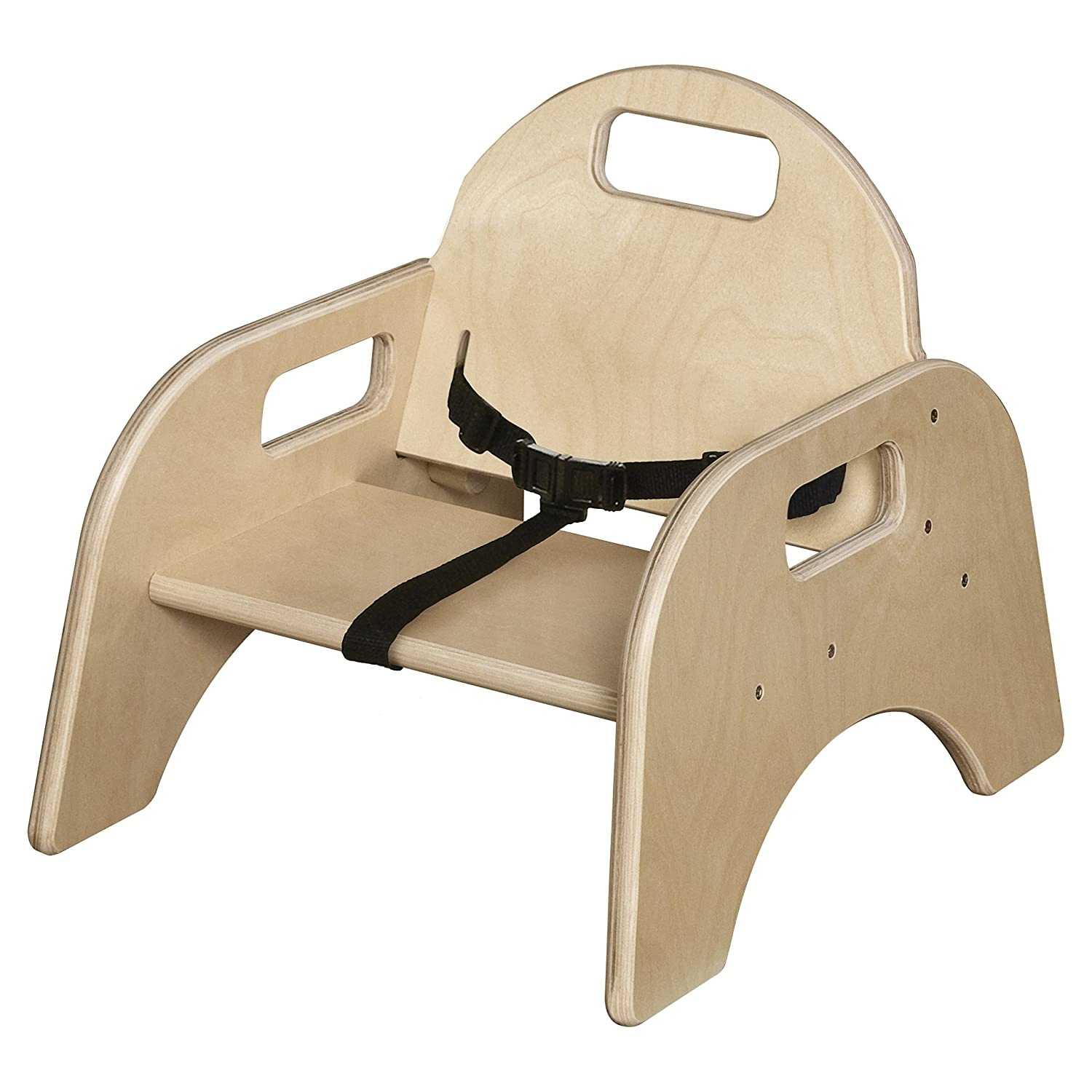 Wood Designs 80502BT Woodie Desk Chairs 2 5 Seat Height Carton of Includes Belt Strap