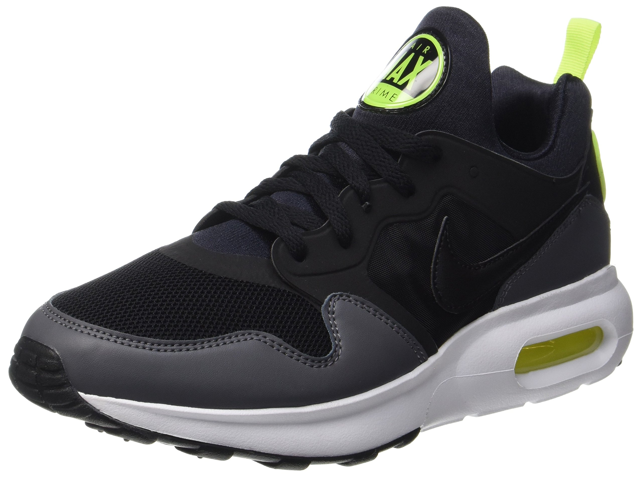 half off 27a1a aada7 Galleon - Nike Air Max Prime Mens Running Trainers 876068 Sneakers Shoes  (UK 10 US 11 EU 45, Black Dark Grey Volt 005)