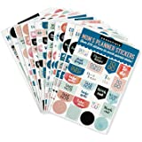 Essentials Mom's Planner Stickers (Set of 575 Stickers)