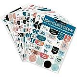 Essentials Mom's Planner Stickers: Set of 575 Stickers