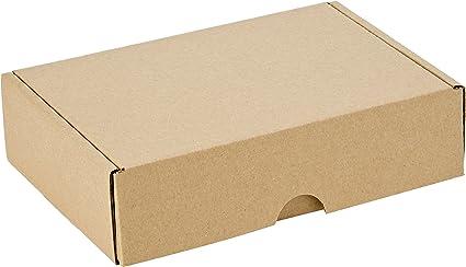 Smartbox 160 x 113 x 42 mm A6 Econ correo caja – Marrón (Pack de 25): Amazon.es: Oficina y papelería