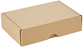 Smartbox 160 x 113 x 42 mm A6 Econ correo caja – Marrón (Pack de