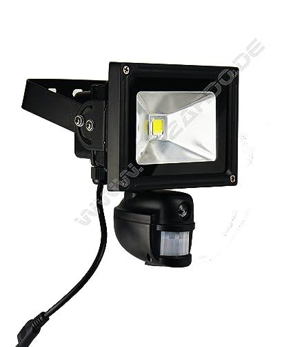 Foco LED para cámaras (con sensor de movimiento y tarjeta SD)