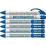 Gift for Teacher - Pens Holder / Desk Organizer - One Sided