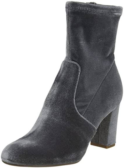 3747c49503b Steve Madden Women s Avenue Ankle Boots Grey  Amazon.co.uk  Shoes   Bags