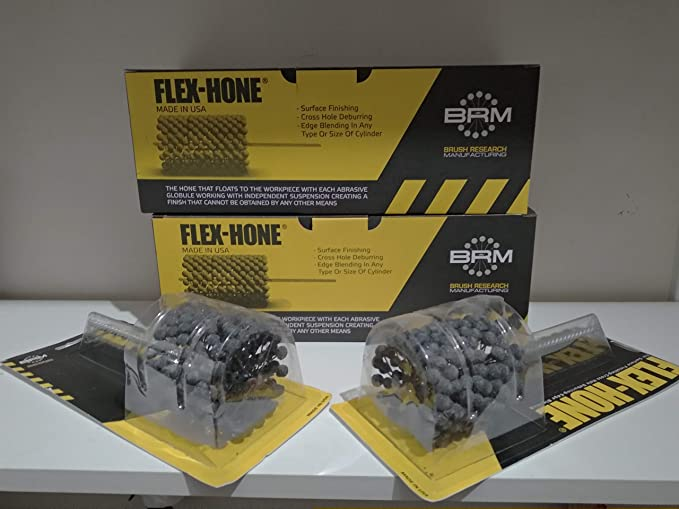 Flex-Hone Tool Bc9m18 Flexible Cyl Hone,Bore Dia.9Mm,180 Grit