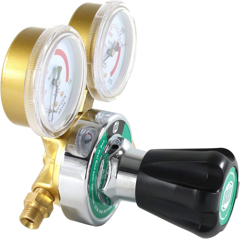 S/ÜA Oxygen and Propane Propylene 25HX Regulators Combo