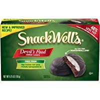 SnackWell's Devil's Food Chocolate Cookie Cakes, 6.75 Ounce