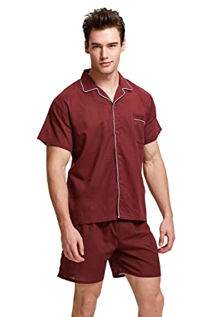 5738977b44 TONY AND CANDICE Men s Cotton Pajama Set