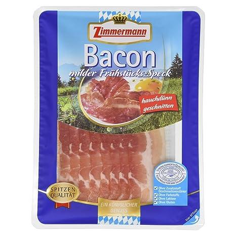 Zimmermann Bacon, 70 g: Amazon.de: Lebensmittel & Getränke