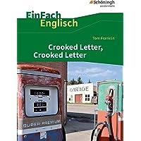 EinFach Englisch Textausgaben: Tom Franklin: Crooked Letter, Crooked Letter