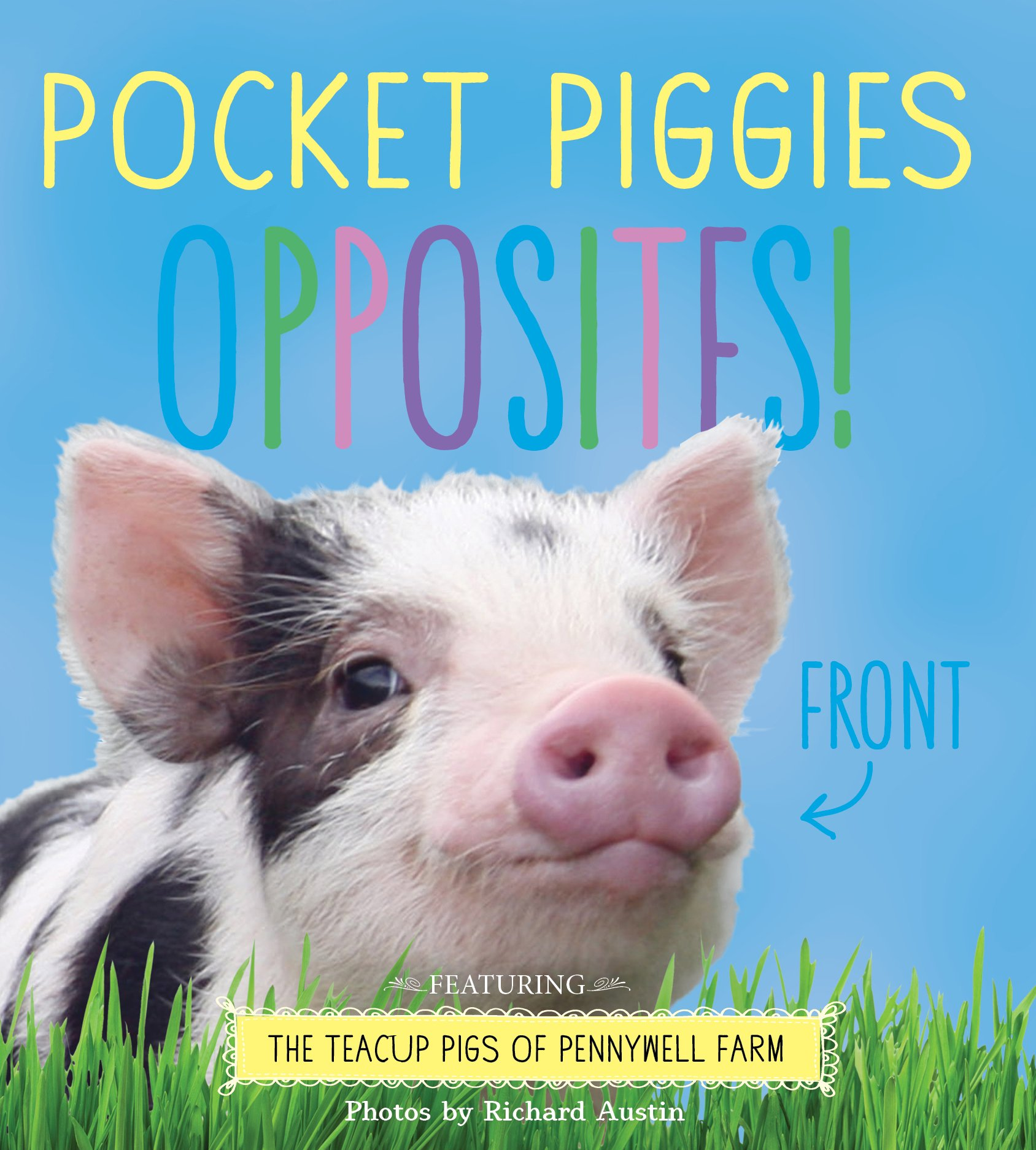 Pocket Piggies Opposites!: Featuring the Teacup Pigs of Pennywell Farm