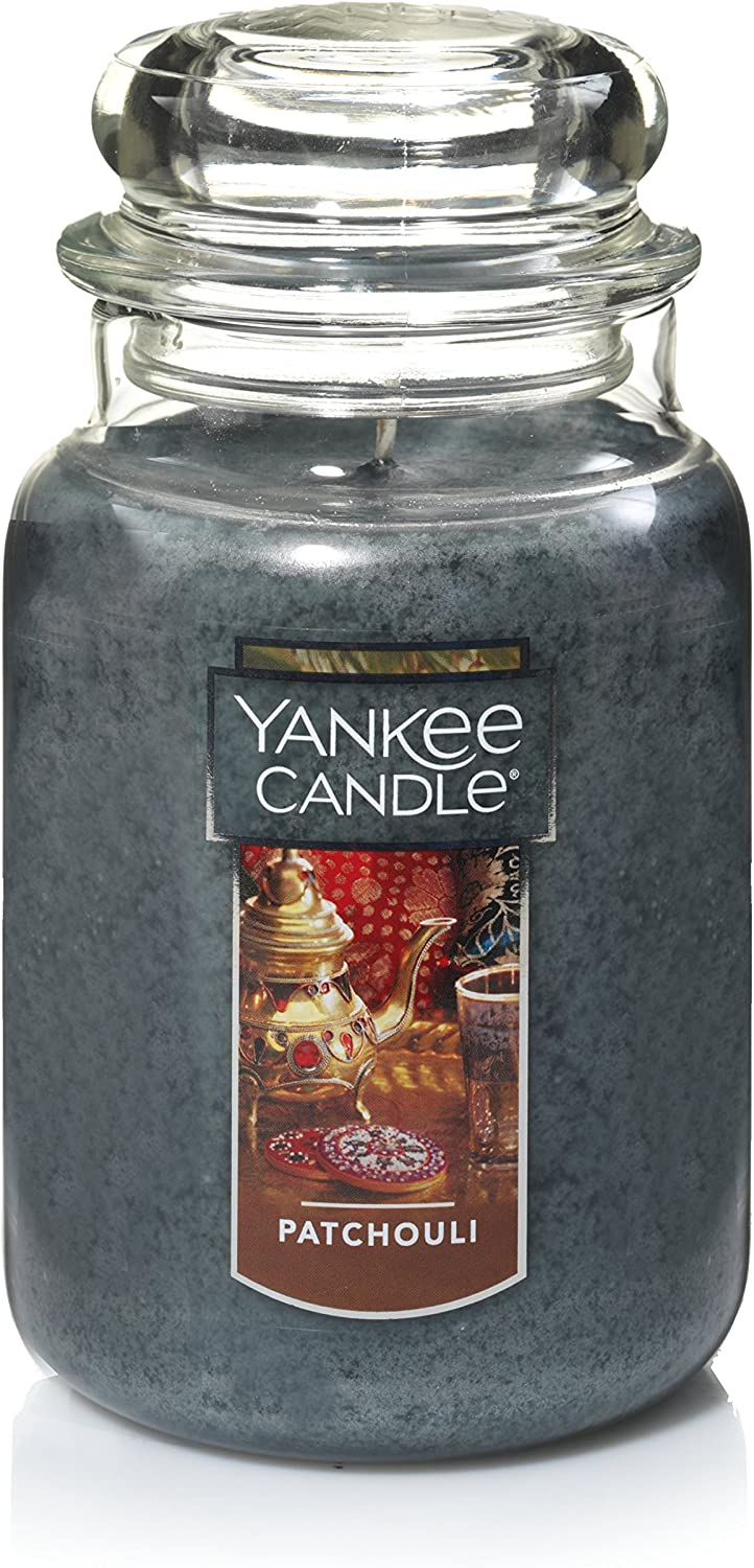 Yankee Candle Large Jar Candle Patchouli: Home & Kitchen