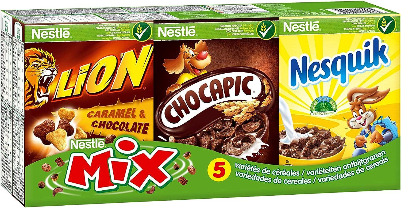 Nestlé Mix Cereal - Paquete de 6 Estuches de Varios Sabores 190 g: Amazon.es: Alimentación y bebidas