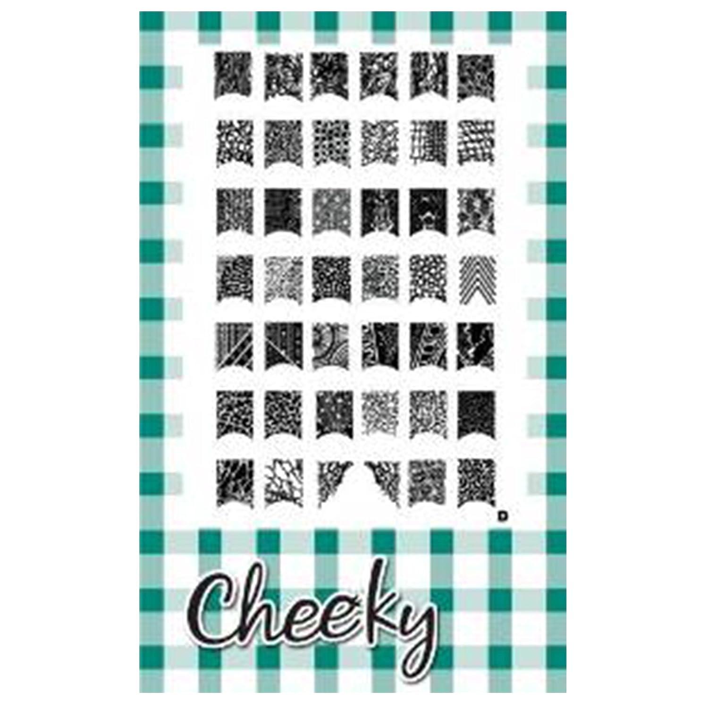 Cheeky Nageldesign-Vorlagenset, J/F/D: Amazon.de: Beauty