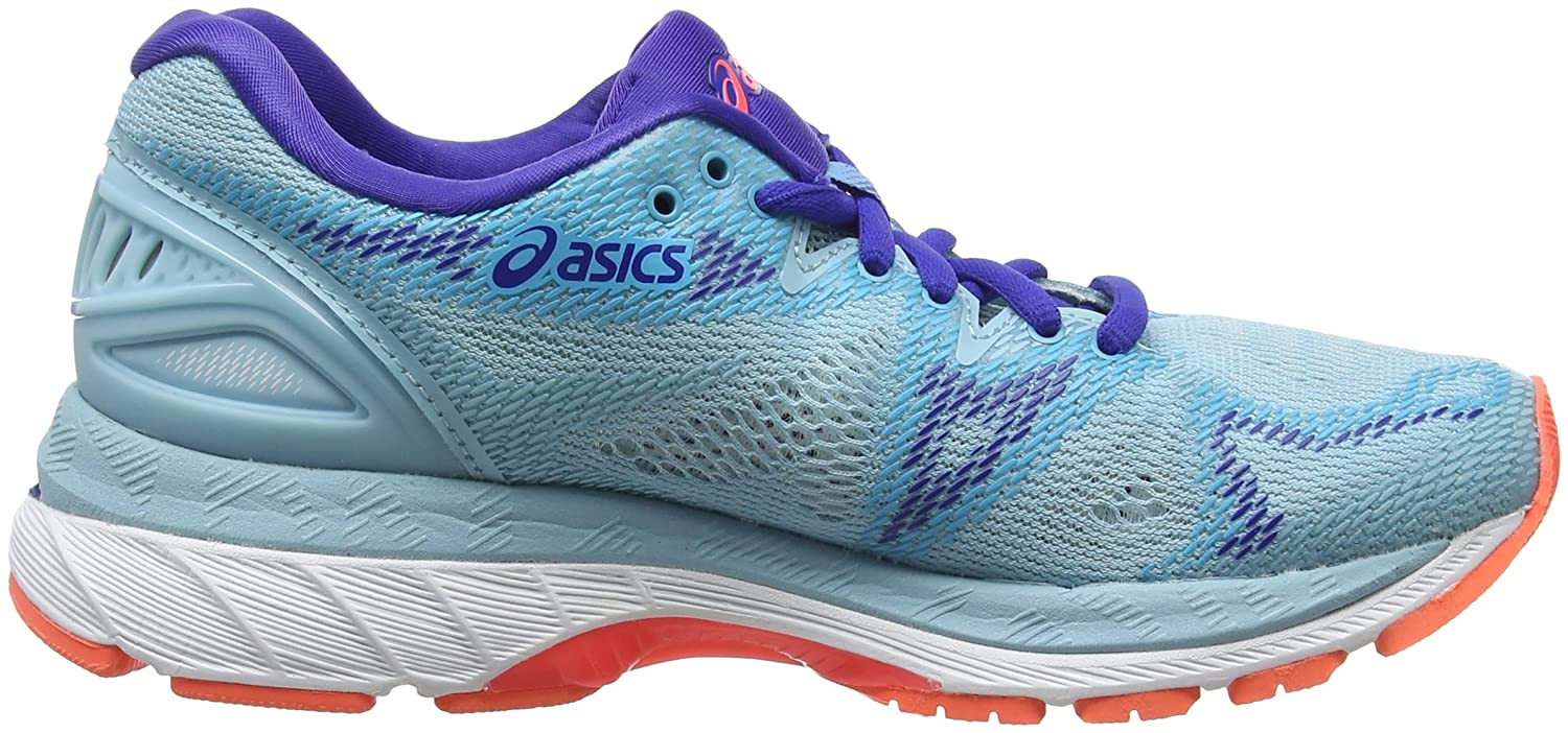 Amazon.com | ASICS Womens Gel-Nimbus 20, Porcelain Blue/White Blue | Road Running