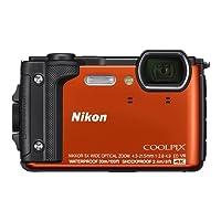 Nikon Coolpix W300 Compact Digital Camera - Orange