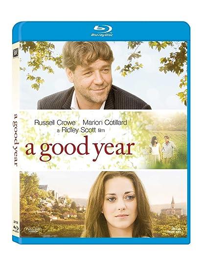 A Good Year Blu Ray Amazon In Russell Crowe Marion Cotillard Abbie Cornish Ridley Scott Russell Crowe Marion Cotillard Movies Tv Shows
