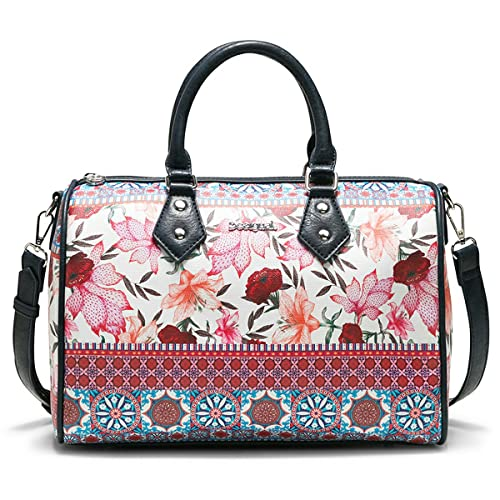 6643b6eb84f Desigual Aria Bowling Handbag 31 cm: Amazon.co.uk: Shoes & Bags