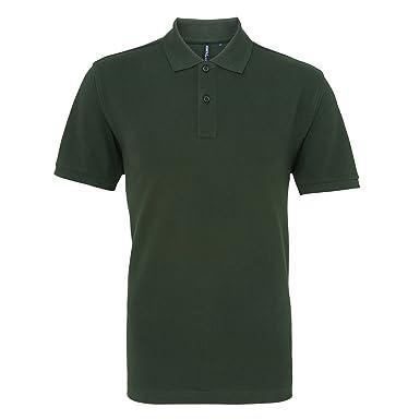 Asquith & Fox Mens Plain Short Sleeve Polo Shirt (3XL) (Bottle)