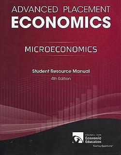 Advanced placement economics teacher resource manual john s advanced placement microeconomics student resource manual fandeluxe Images