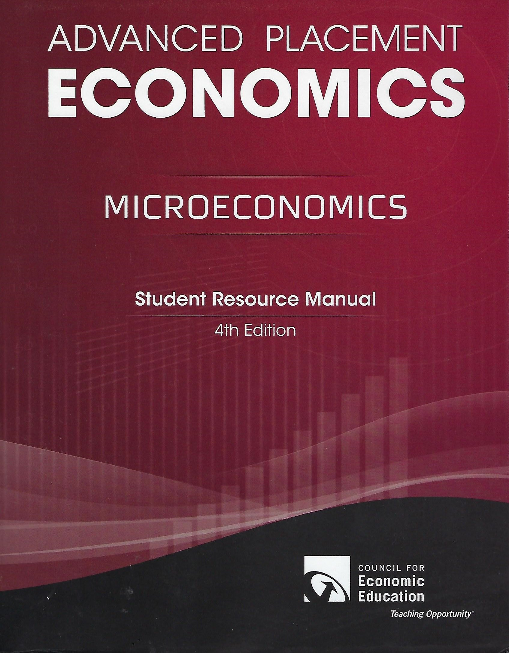 Advanced Placement: Microeconomics: Student Resource Manual: Gary L. Stone:  9781561836703: Amazon.com: Books