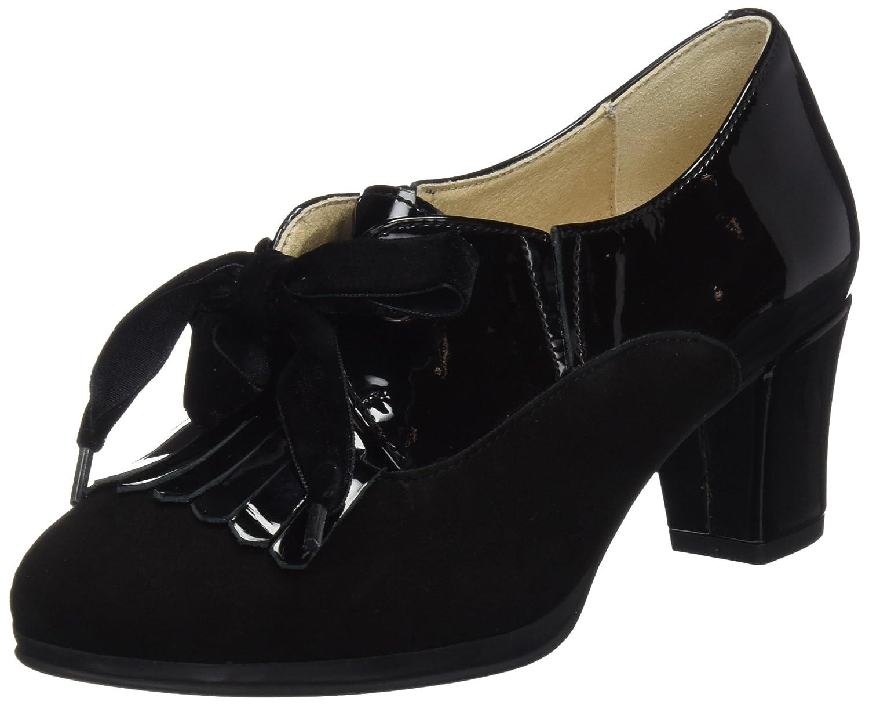 TALLA 40 EU. DCHICAS 3416, Zapatos de tacón con Punta Cerrada para Mujer