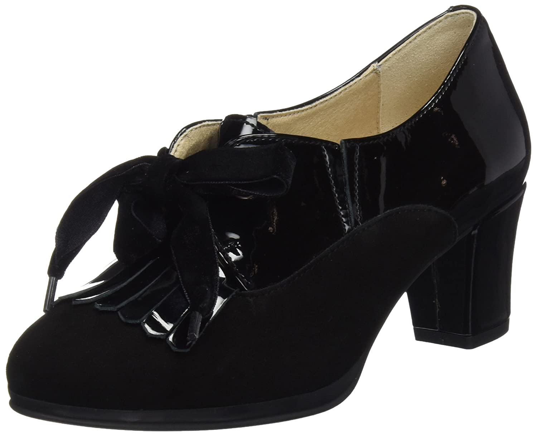 DCHICAS 3416, Zapatos de tacón con Punta Cerrada para Mujer
