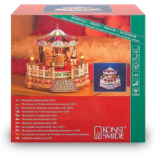 Konstsmide Weihnachtsbeleuchtung.Konstsmide Carousel Decorative Lighting Led Warm White 250 Mm