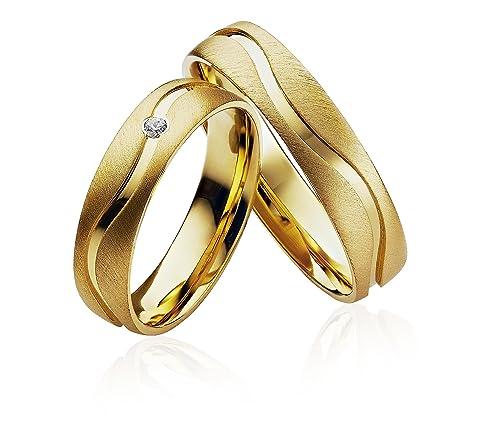 Verlobungsringe Eheringe Trauringe Partnerringe 2 Ringe Gold